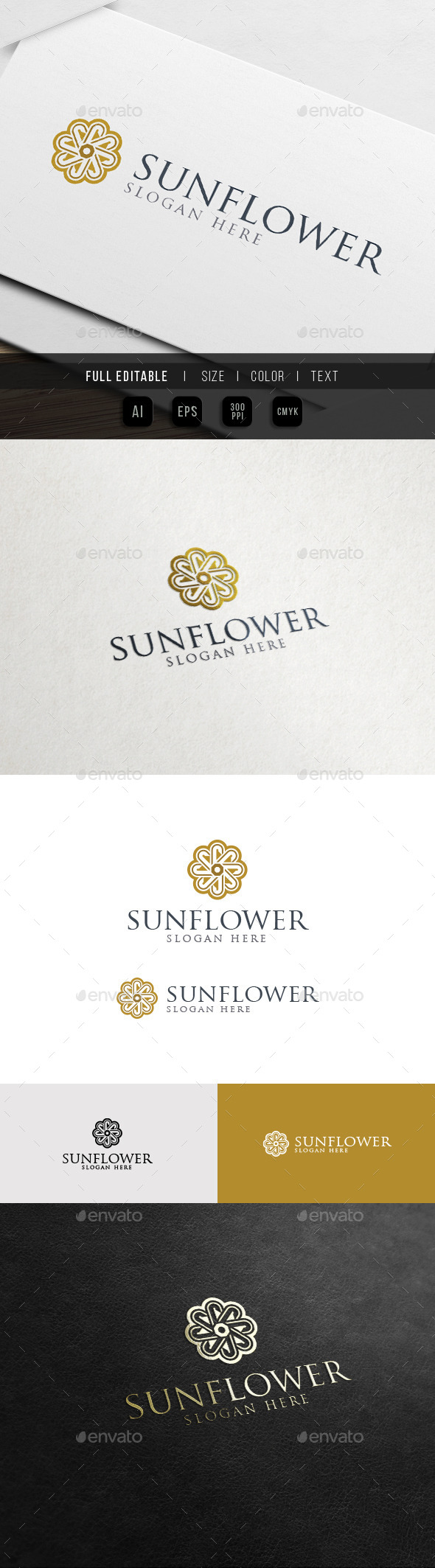 GraphicRiver Yoga Flower Hotel and Resort Logo 11762451