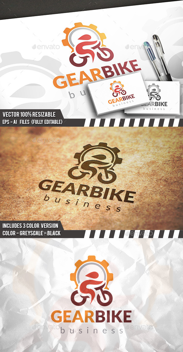 GraphicRiver Bike Repair Logo 11762459