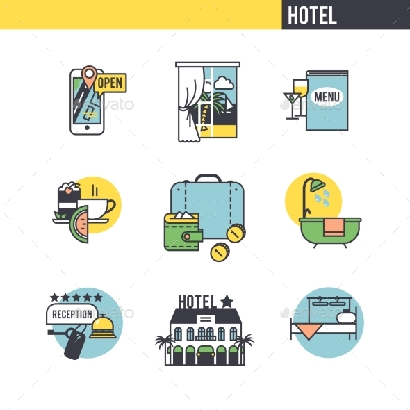 GraphicRiver The Concept Of The Hotel 11762651