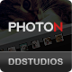PHOTON- The Ultimate Photography Showcase Template - ThemeForest Item for Sale