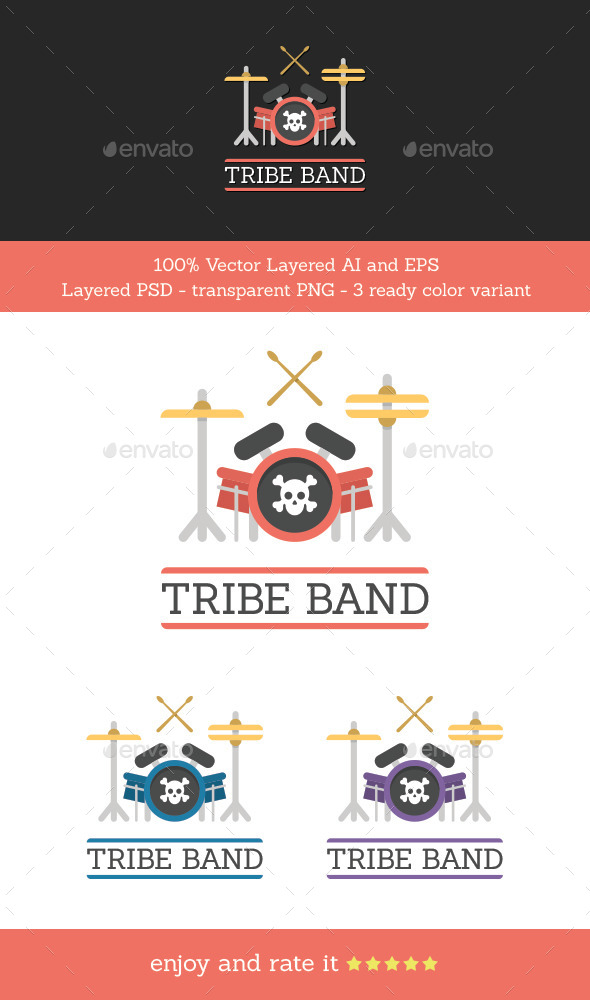 GraphicRiver Tribe Band 11763243
