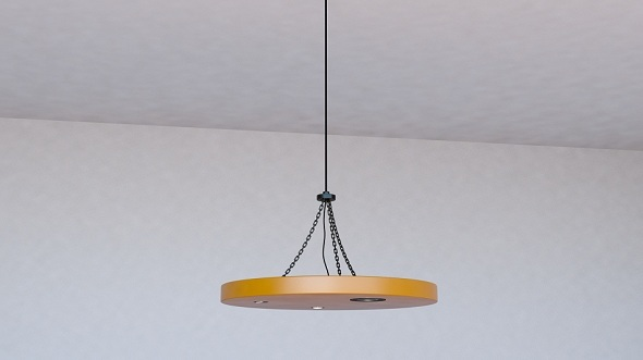 3DOcean Ceiling Lamp 11731579
