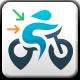 Bike Locator Logo - GraphicRiver Item for Sale