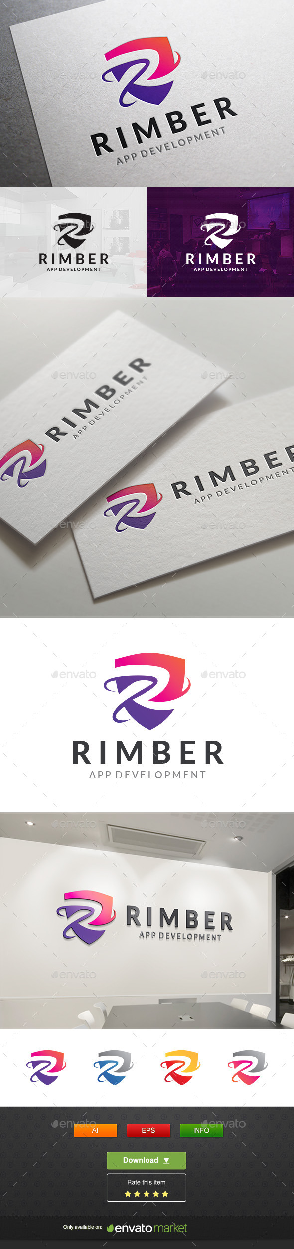 GraphicRiver Rimber Tech 11764834