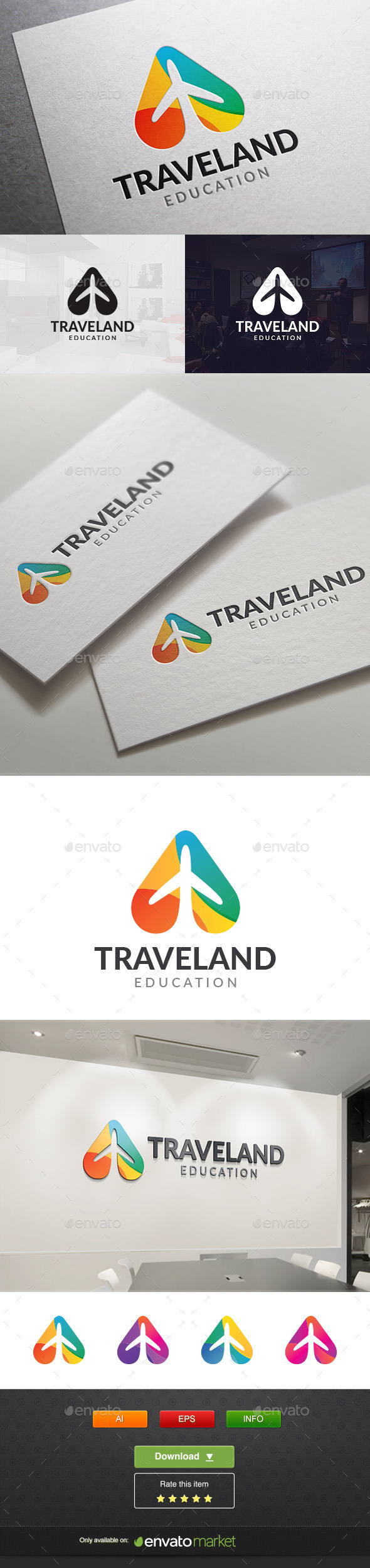 GraphicRiver Travel Land 11765450