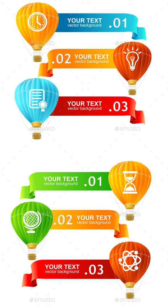 GraphicRiver Hot Air Ballons Option Banners 11765762