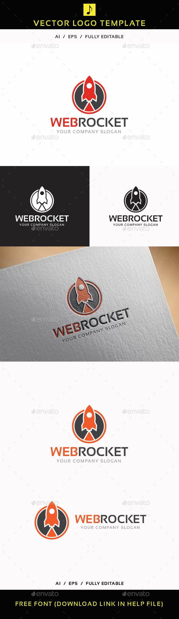 GraphicRiver Web Rocket 11765790