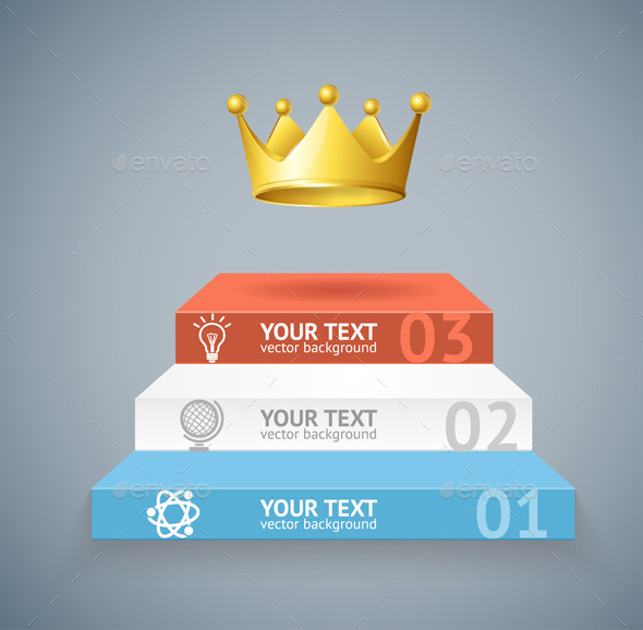 GraphicRiver Stairs and Crown Option Banner 11765797