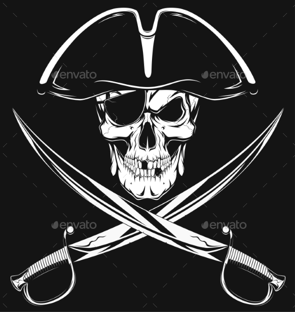 GraphicRiver Pirate Skull 11765994