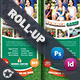 Summer Camp Roll-Up Templates - GraphicRiver Item for Sale