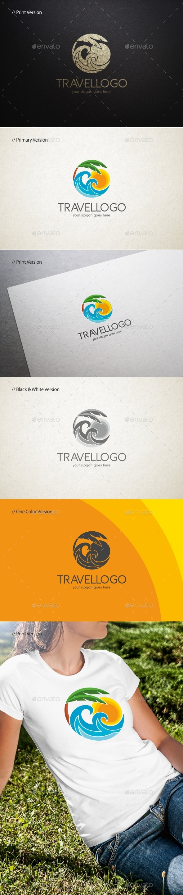 GraphicRiver Travel Logo Template 11766058
