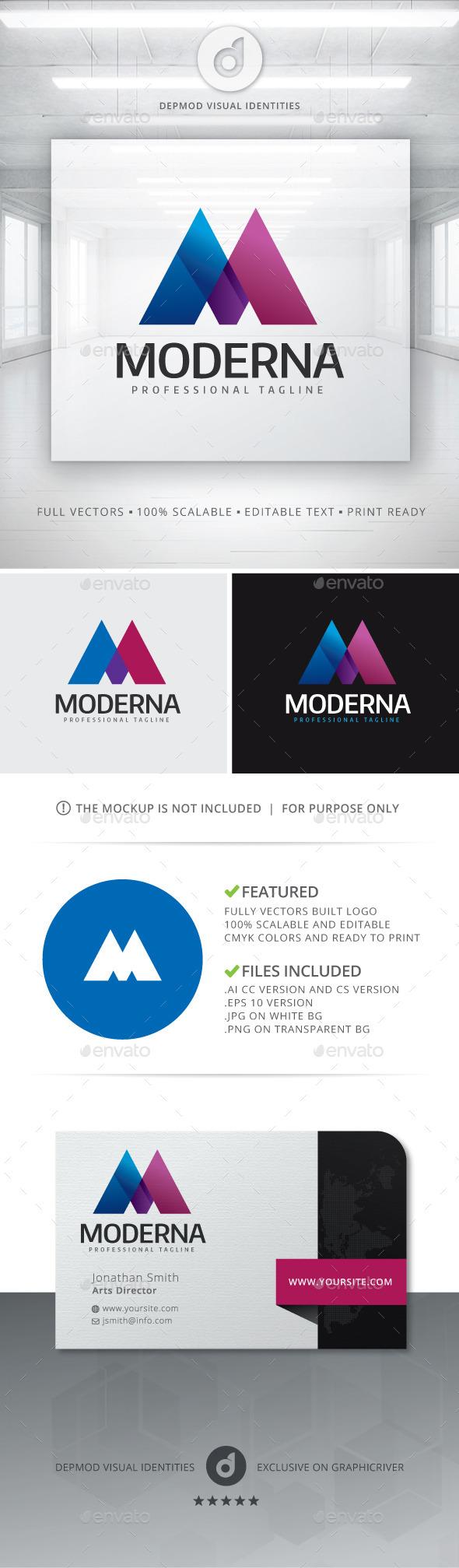 GraphicRiver Moderna Logo 11766878