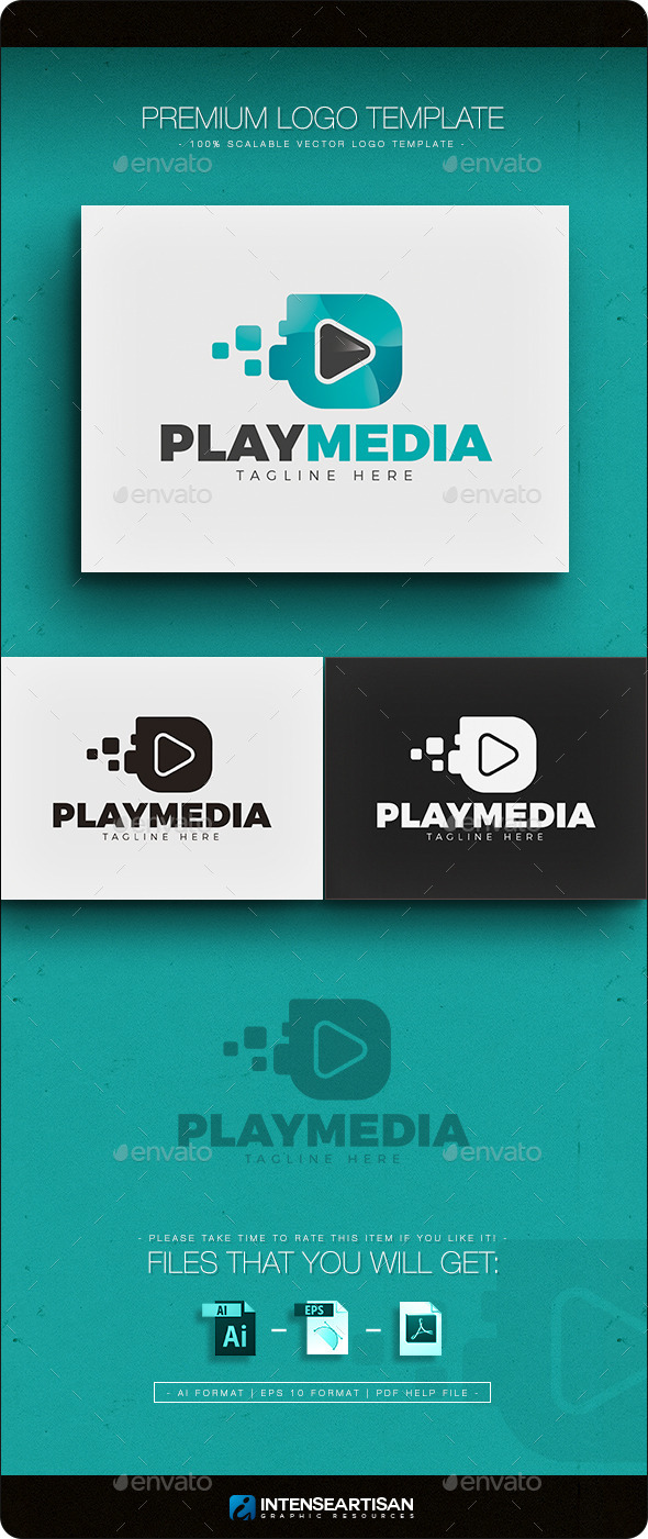 GraphicRiver Play Media Logo 11766982