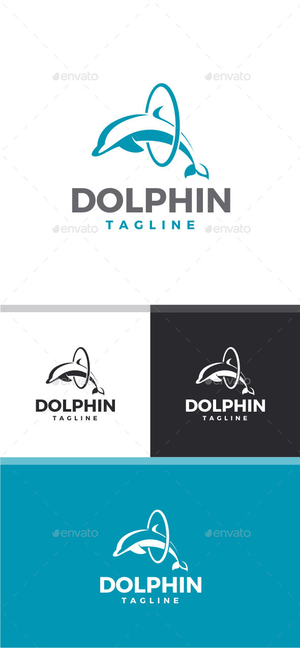 GraphicRiver Dolphin Logo 11767050