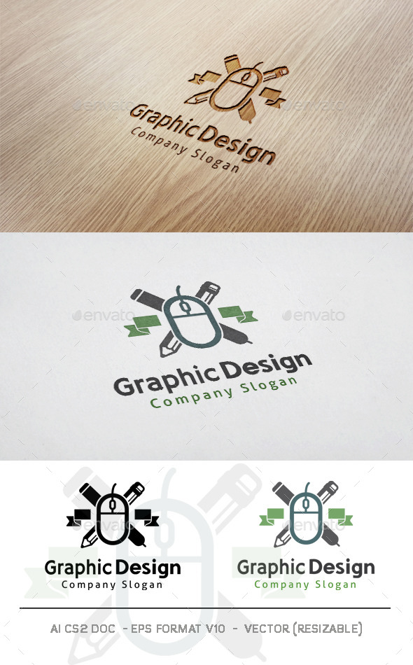 GraphicRiver Graphic Design Logo 11767128