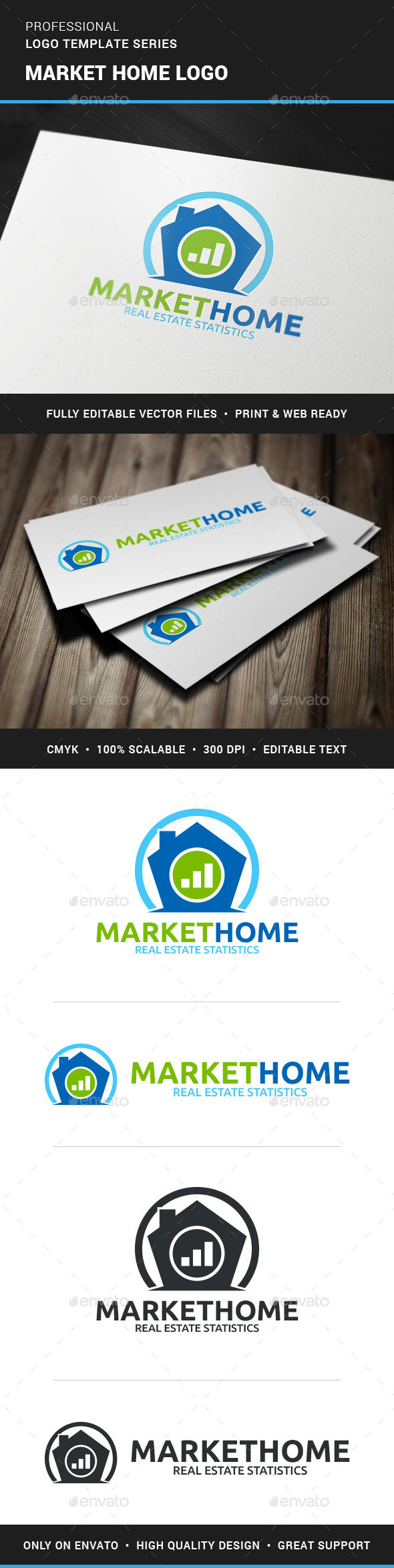 GraphicRiver Marketing Home Logo Template 11767237