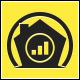 Marketing Home Logo Template - GraphicRiver Item for Sale