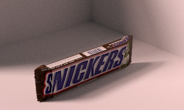 Snickers Chocolate Bar - 3DOcean Item for Sale