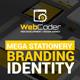 Web Design Agency Stationery Branding Identity - GraphicRiver Item for Sale