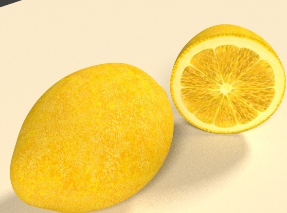 3DOcean 3D Lemon 11767367