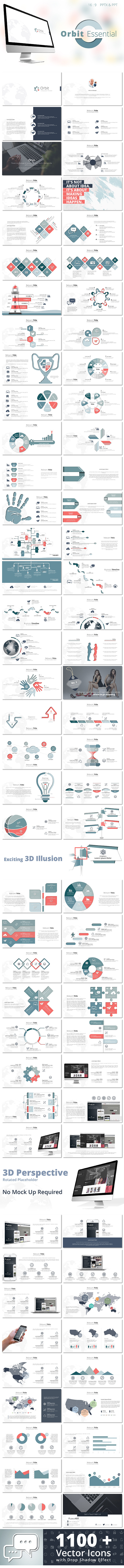 GraphicRiver Orbit Essential PowerPoint Presentation 11767528