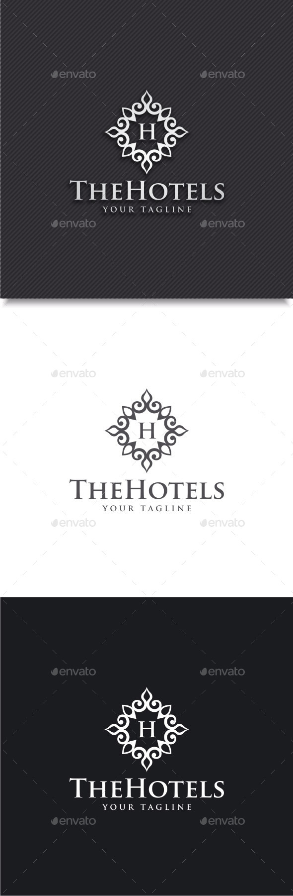 GraphicRiver Hotels Logo 11767545