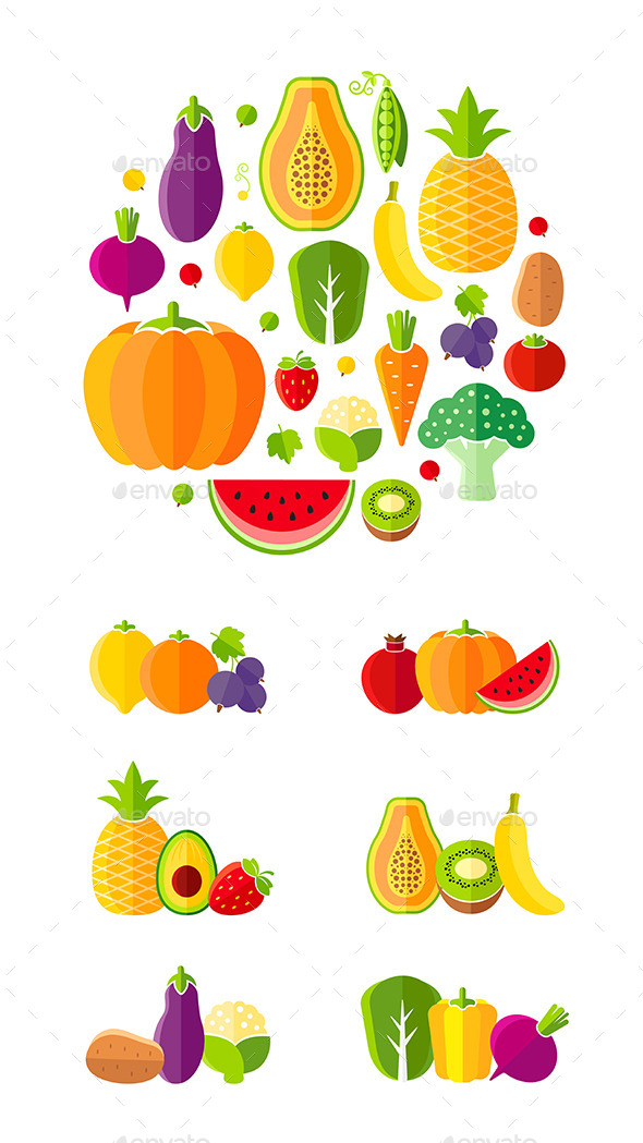 GraphicRiver Healthy Lifestyle Design Elements 11768073