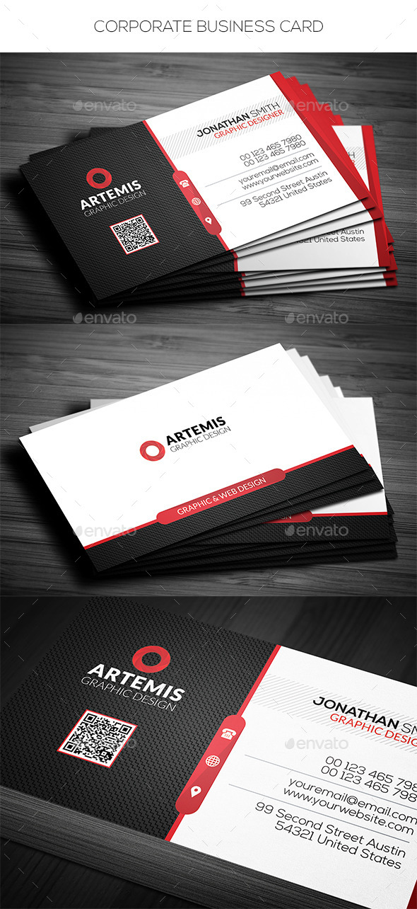 GraphicRiver Corporate Business Card 11768078