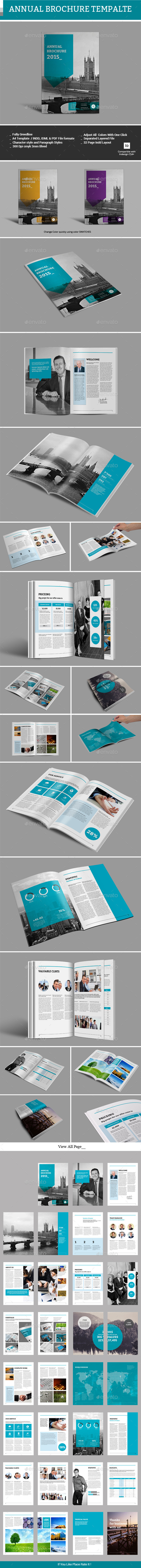 GraphicRiver Annual Brochure Template 11768231