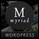 Myriad - Powerful Professional WordPress Theme - ThemeForest Item for Sale