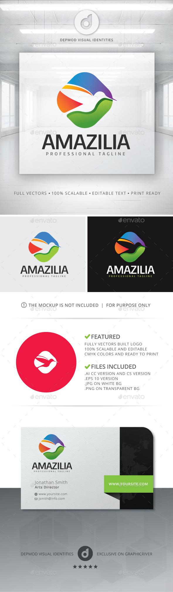 GraphicRiver Amazilia Logo 11768591
