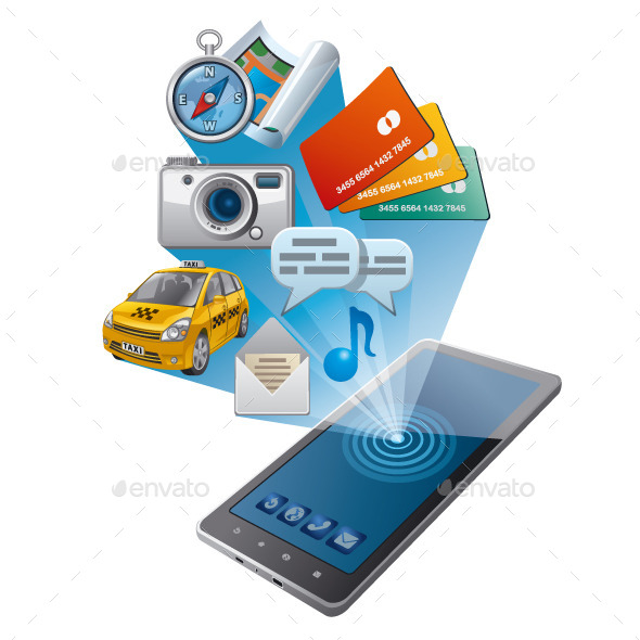 GraphicRiver Mobile Phone Applications 11768441