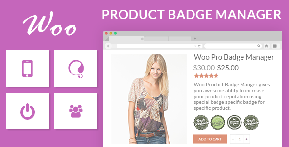 CodeCanyon Woocommerce Product Badge Manager 11736039
