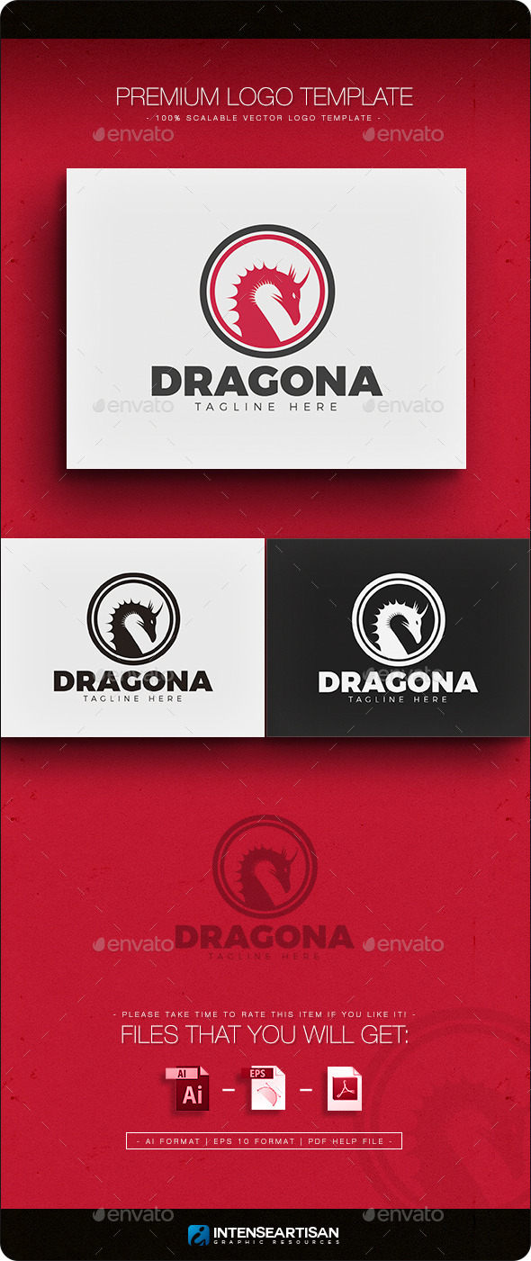 GraphicRiver Dragon V.3 Logo 11769434