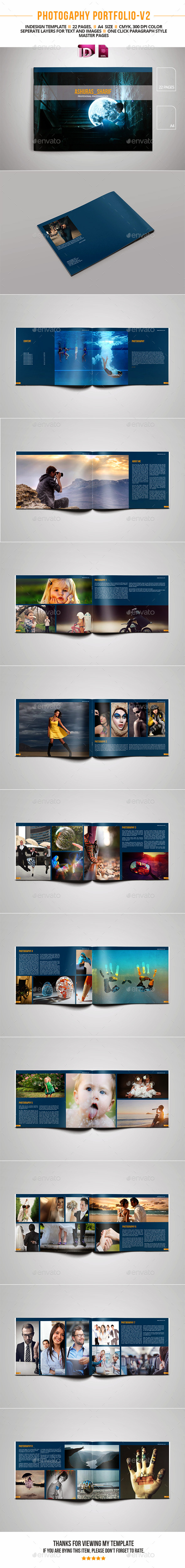 GraphicRiver Photography Portfolio V2 11763271