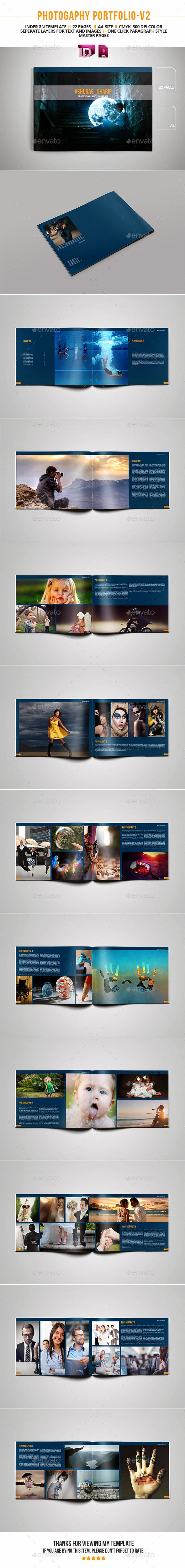 GraphicRiver Photography Portfolio V2 11763271