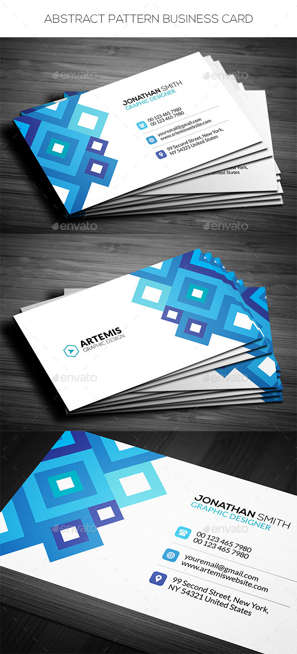 GraphicRiver Abstract Business Card 11769859