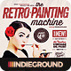 Retro Painting Machine - Vintage Effect Action - GraphicRiver Item for Sale