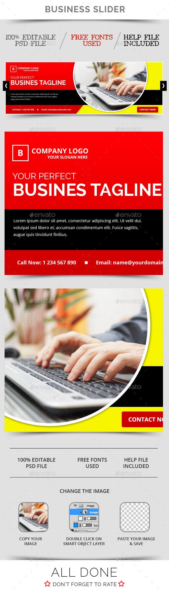 GraphicRiver Business Slider V23 11769872