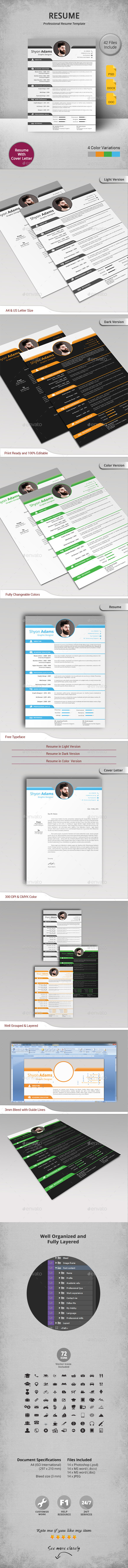 GraphicRiver Resume 11769888