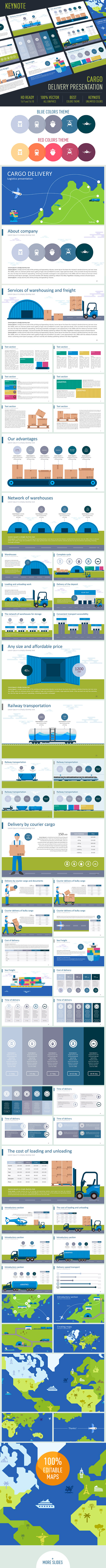 GraphicRiver Cargo delivery Presentation 11769898