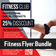 Health, Sports, Fitness Flyer Bundle