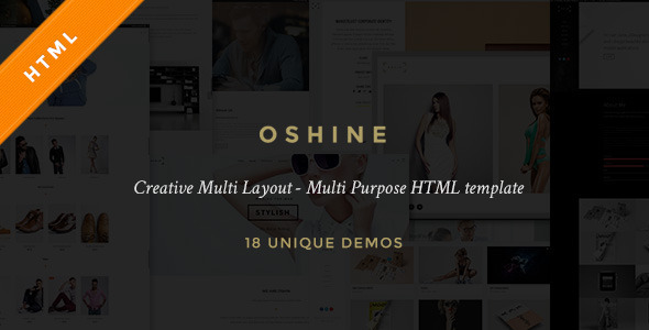 23. Oshine - Creative Multi-Purpose HTML Template