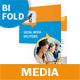 Communication Bifold / Halffold Brochure - GraphicRiver Item for Sale
