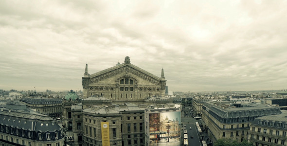 Paris Opera From Above
