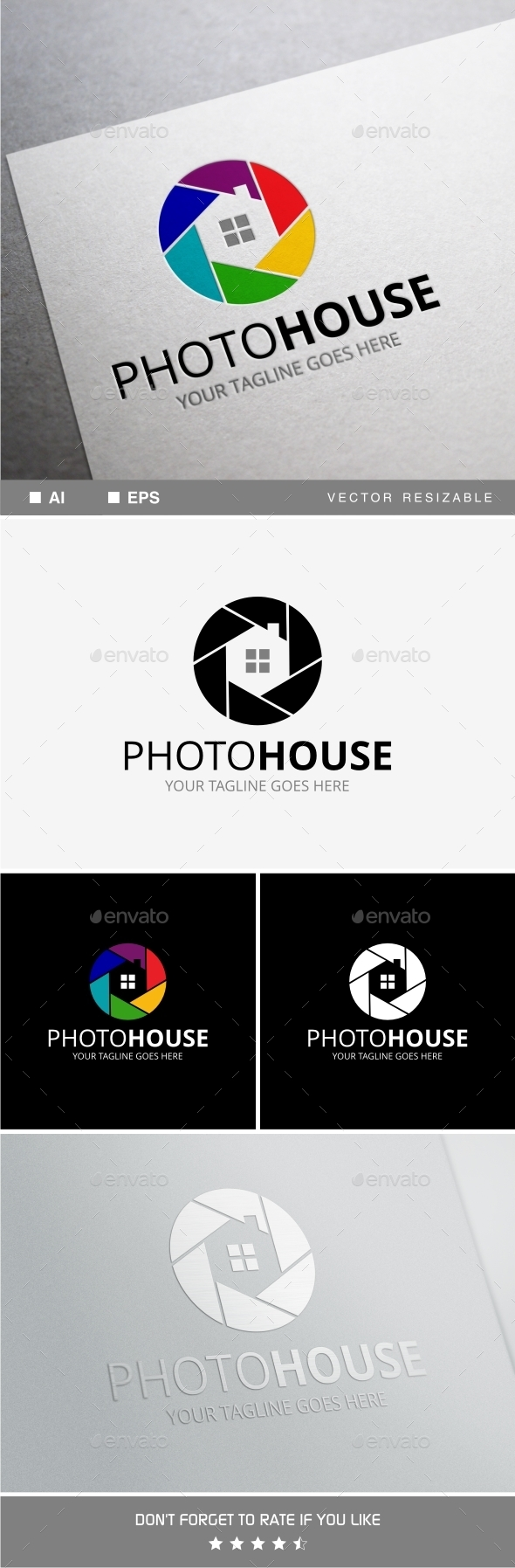 GraphicRiver Photo House Logo Template 11770599