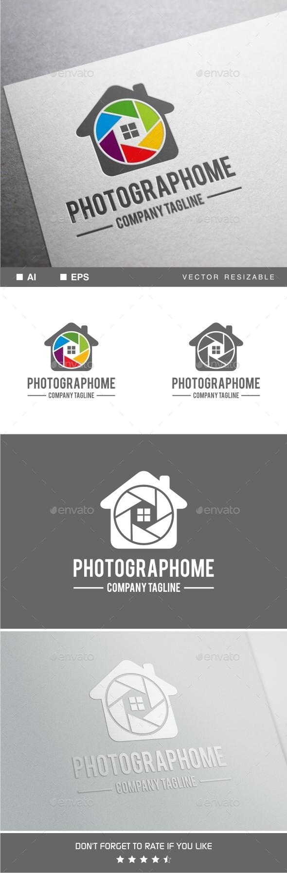 GraphicRiver Photograph Home Logo 11770689
