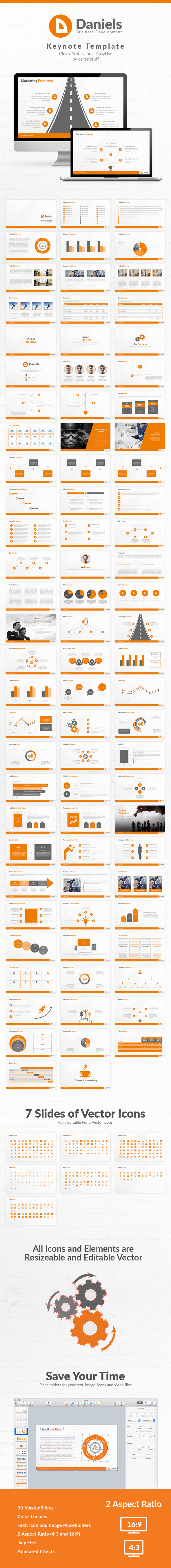 GraphicRiver Daniels Keynote Presentation Template 11770699