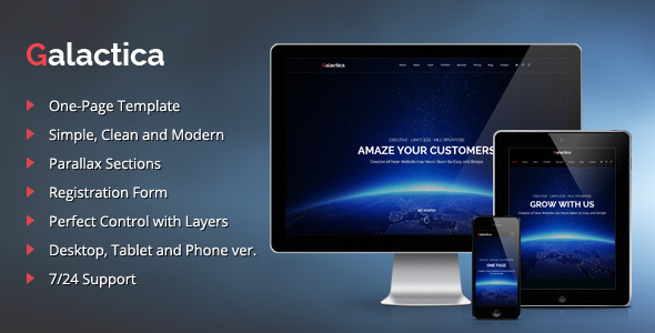 ThemeForest Galactica Creative Multi-purpose Muse Template 11770704