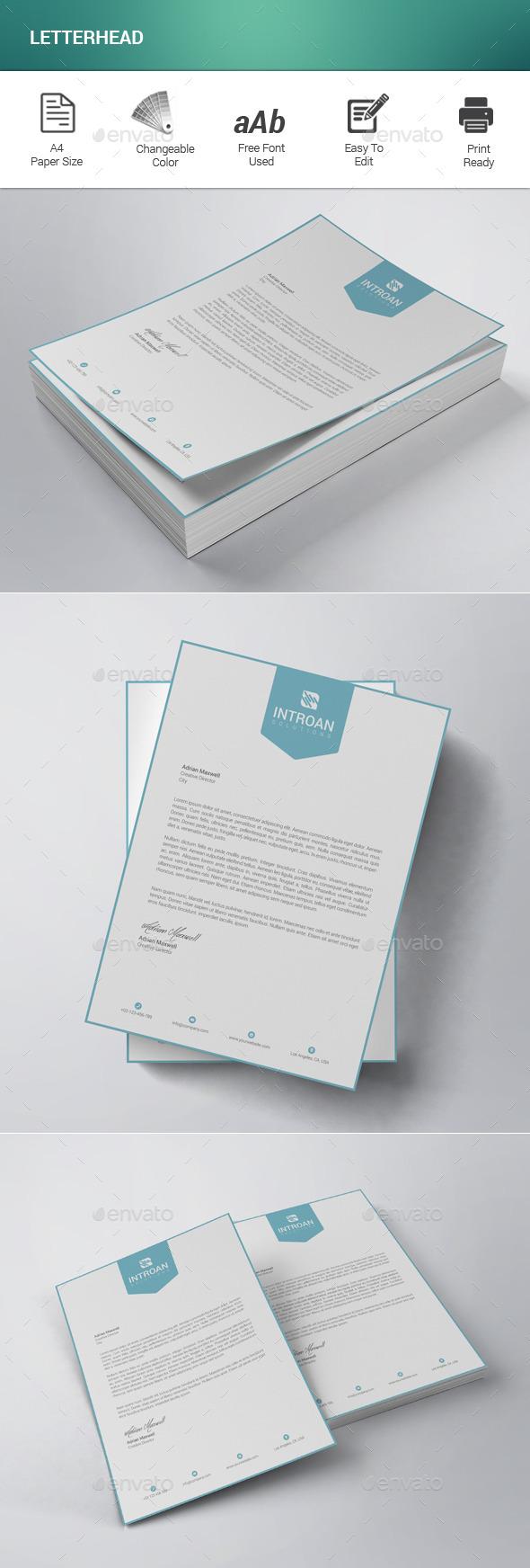 GraphicRiver Letterhead 11770777